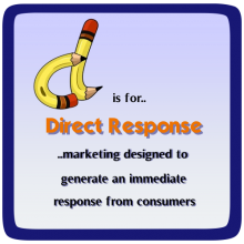 D is for Direct Response Marketing