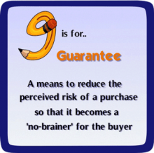 G-is-for-Guarantee